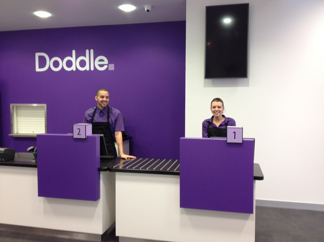 £24m Doddle joint venture rolls out across UK: Network Rail's Doddle parcel service shop in Milton Keynes