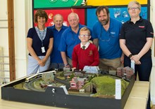 Rail safety model railway, Bognor Regis: Can you spot the danger? Children from Rose Green School in Bognor Regis compete to spot dangers on the railway thanks to this model by the town's model railway society