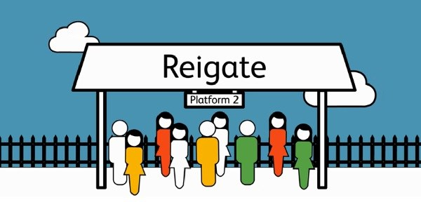 Public response reveals strong support for Network Rail's Reigate station upgrade proposals: Reigate stn animation
