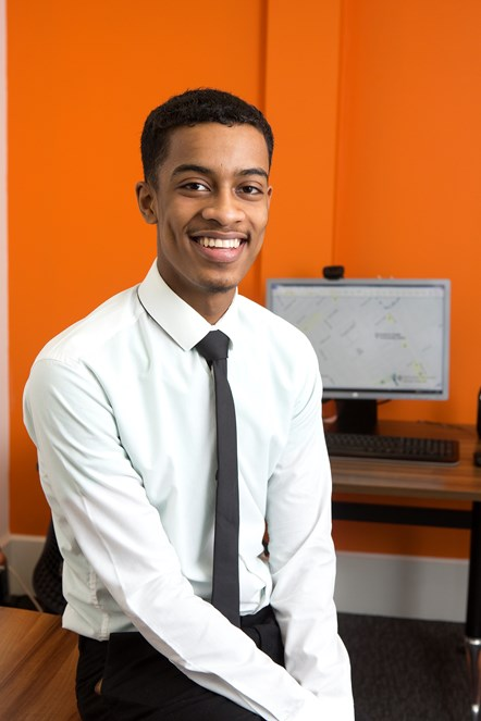 Roadshow brings opportunities for young people during National Apprenticeship Week: Islington Apprentice, Usama Mohamed