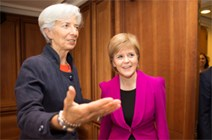 First Minister meets with Christine Lagarde,