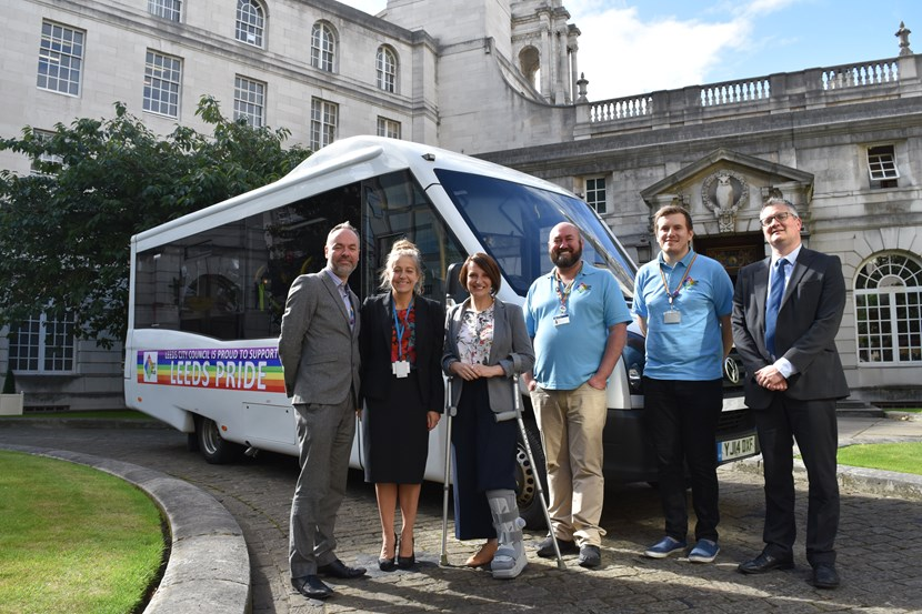 Ticket to ride to Pride in Leeds: accessiblebus.jpg