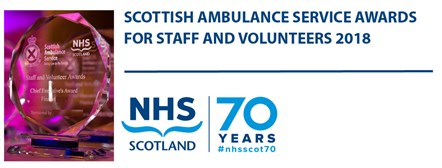 Help us celebrate our achievements and vote for your ambulance hero!: AWARDLOGO