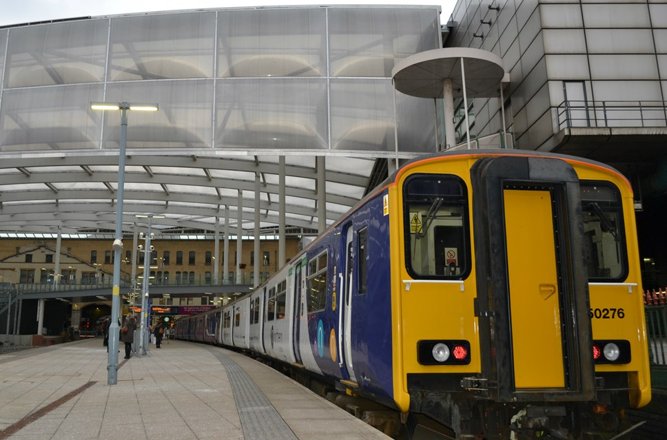 Northern calls for goodwill to all in Manchester this Christmas: 150 refurb at Victoria 2