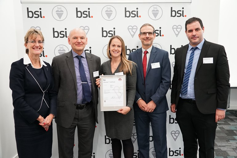 Network Rail's National Records Group achieves BSI Kitemark for Customer Service