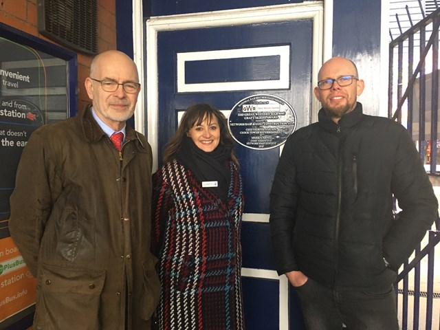 Plaque unveiled to celebrate restoration of Cleethorpes Clock Tower
