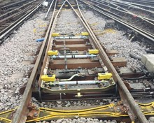 Important sections of track at Waterloo were replaced during the weekend of 4-5 March (4)