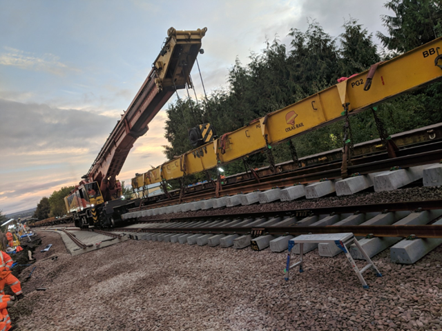 Network Rail and Transport for Wales Rail Services thank passengers following Craven Arms railway upgrade: Craven Arms Upgrade