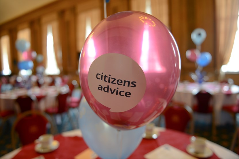 Lord Mayor and council leader attend special celebration for charity's 80th birthday: citizensadvice-balloon-647659.jpg