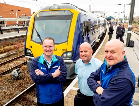Drivers New Train Doncaster Leeds