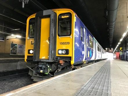 North West welcomes Northern's first fully refurbished Class 150: Digital 150220