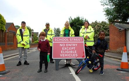 Thameside School Street