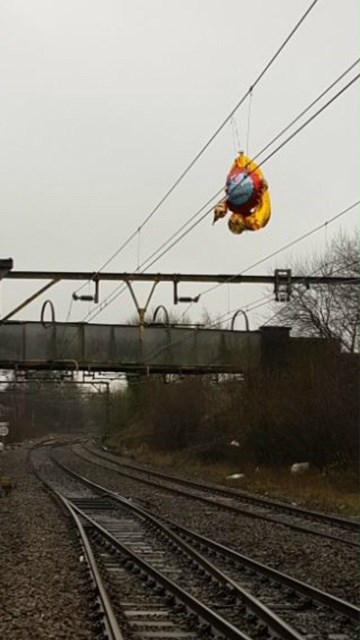 Balloons Hyde Junction Manchester Feb 2018