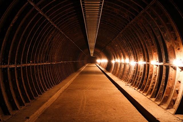 Old mail tunnel Birmingham New Street - Credit Instagram  @joncrampton
