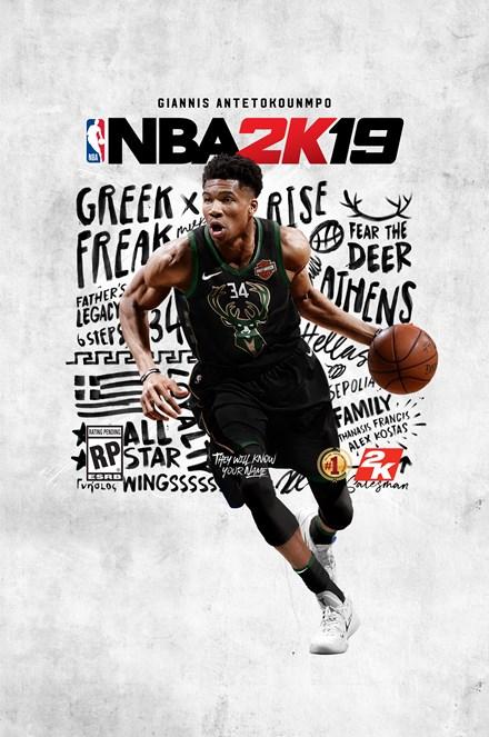NBA2K19 Standard Art Vertical