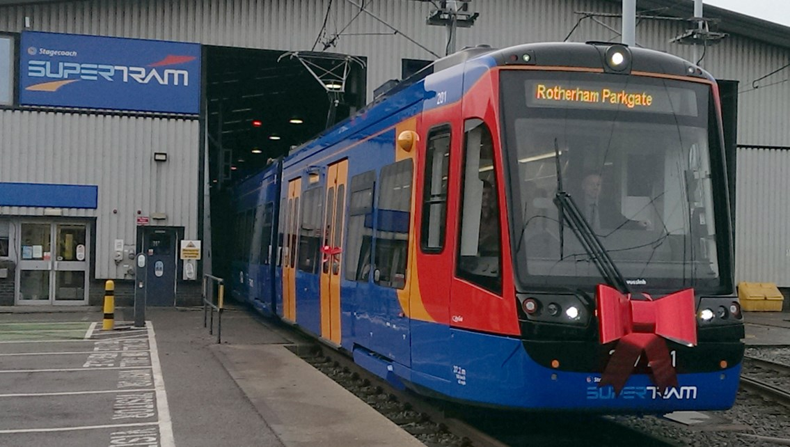 Passengers advised to check before they travel as Tram Train pilot progresses: Passengers advised to check before they travel as Tram Train Pilot progresses