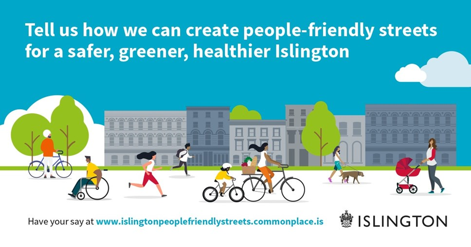 Covid-19: Islington Council takes action to create people-friendly streets: Islington Council takes action to create people friendly streets-2