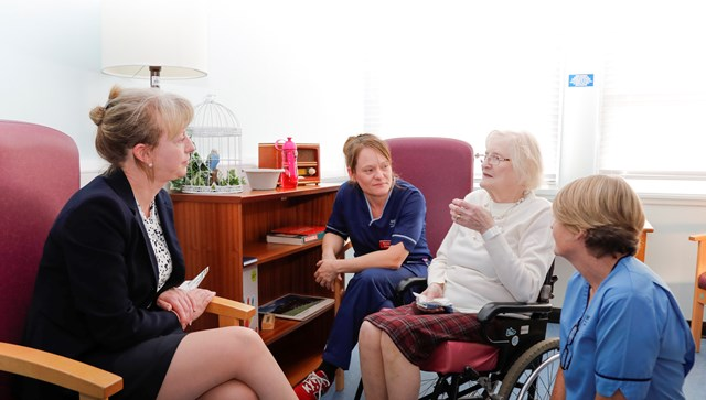 £5m more to support NHS winter plans: Shona Robison meets patients at Victoria Hospital
