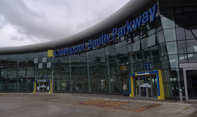 Platform work complete at Liverpool South Parkway in time for Lime Street upgrade: Liverpool South Parkway railway station