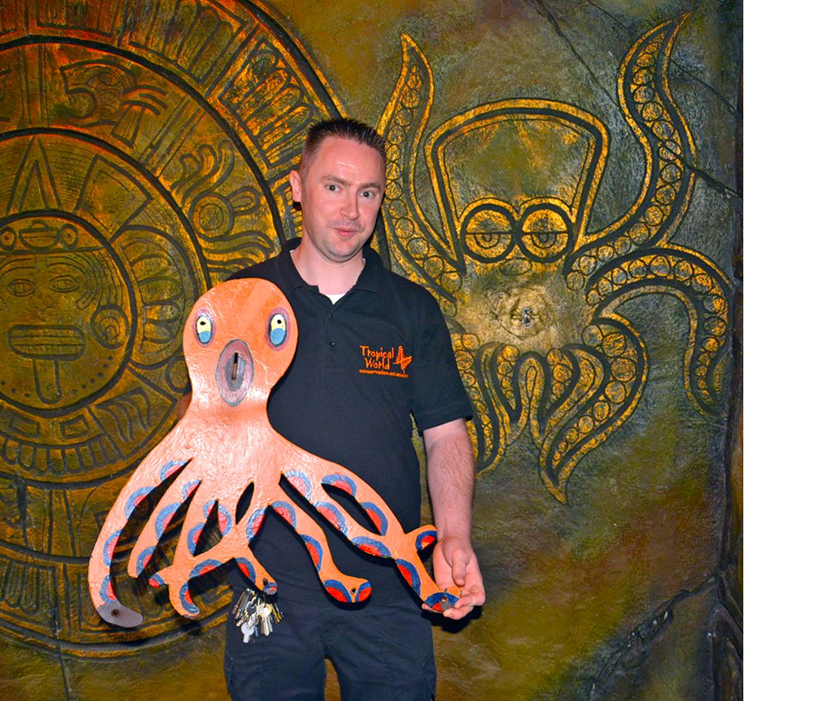 Olly the Octopus back at Tropical World due to popular demand: ollyamprodriguez.png