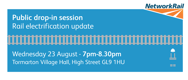 South Gloucestershire residents invited to learn more about railway electrification: Tormarton drop in (3)