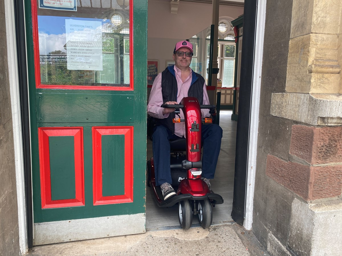Accessibilty Fund Cumbria - Tony Jennings