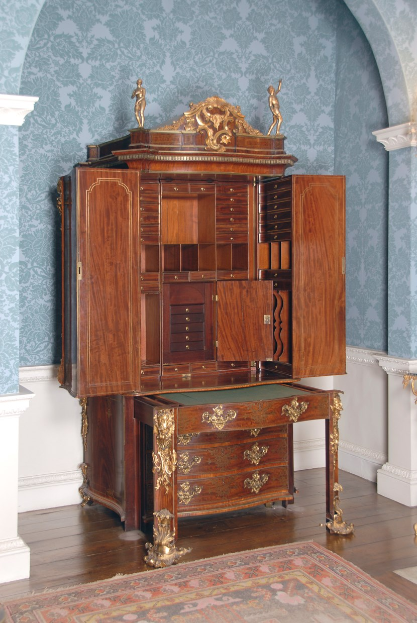 Object of the week- the Channon cabinet: channonwritingcabinet2.jpg