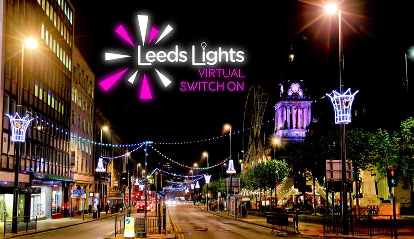 Line-up announced for city's first ever virtual Christmas lights switch-on: LightsSwitchOn image