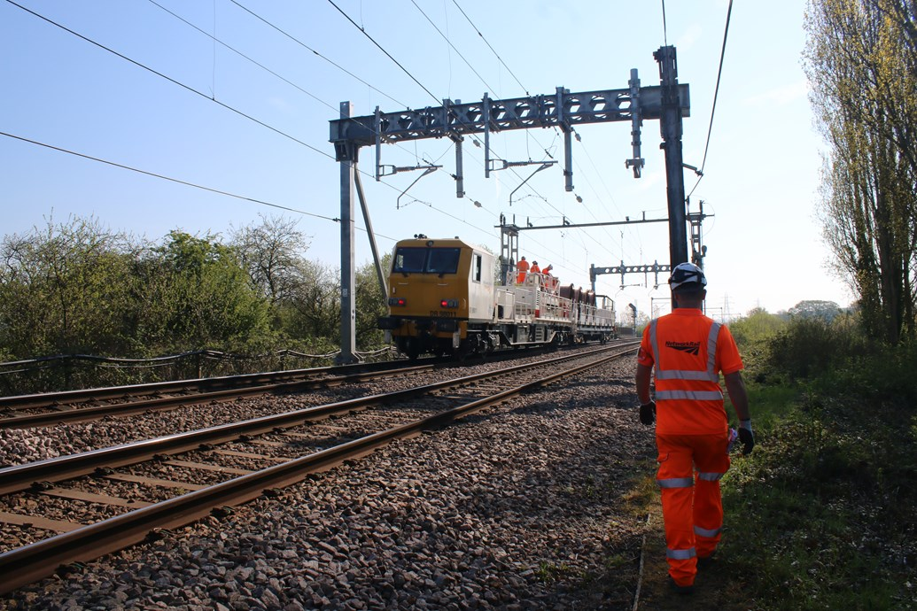 Passengers reminded to check before they travel over the Late May bank holiday: Southend OLE works  3 - May 2019