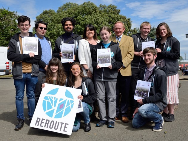 Young people 'bringing nature to Scotland's cities': ReRoute