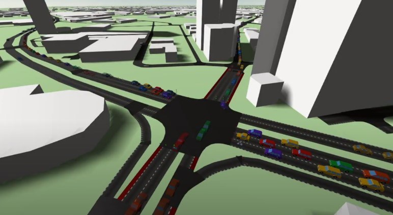 Salford 3D junction simulation