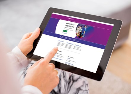 Census 2021: Accessing Census Information on an iPad