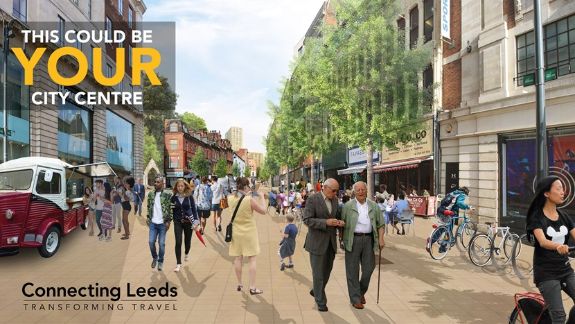 This could be your city centre – Connecting Leeds seeks views on transport plans: phase2cleedsgovinsitebanner-174688.jpg