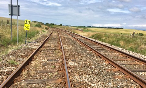 Sleepers, rail and railway stone will be replaced between Silecroft and Bootle in West Cumbria