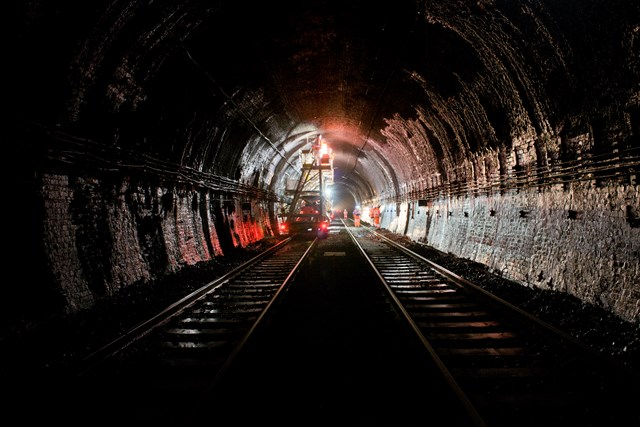 Severn Tunnel Electrification preparatory work 1