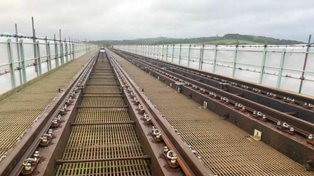 Eskmeals viaduct improvement work 1