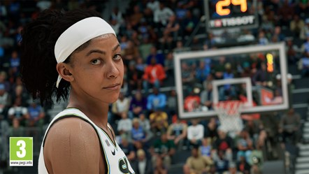 NBA 2K22 First Look Candace Parker