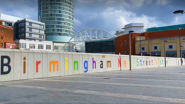 Birmingham New Street - pride 1