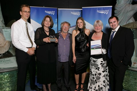 Rail Crime Prevention Award winners