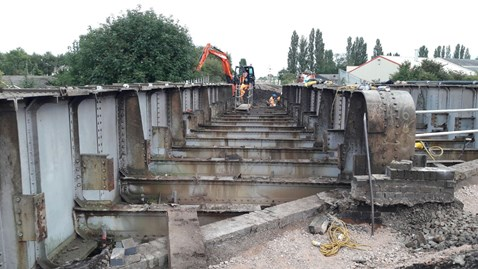 Bridge installation works-2