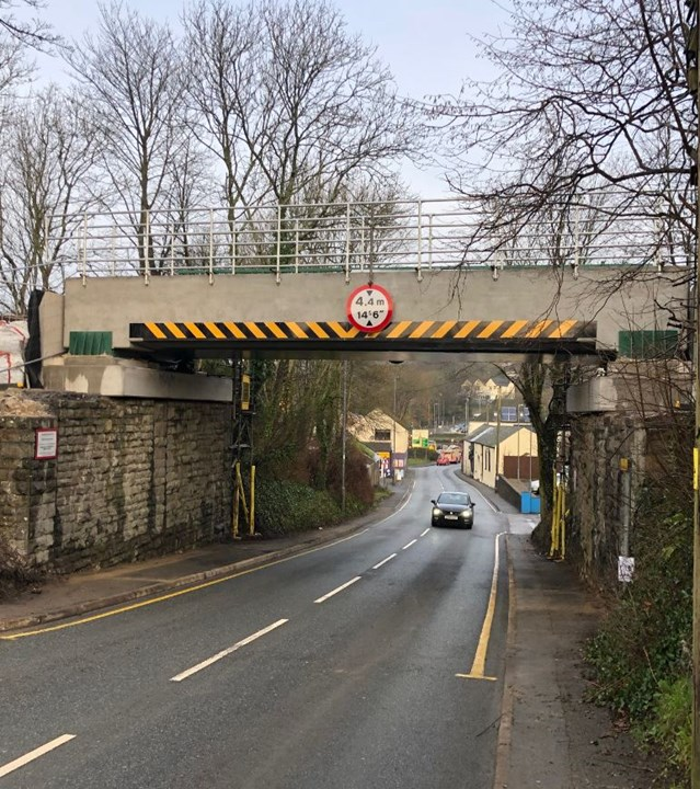 Residents and passengers thanked as Haverfordwest bridge renewal is completed: Pembroke road complete-3
