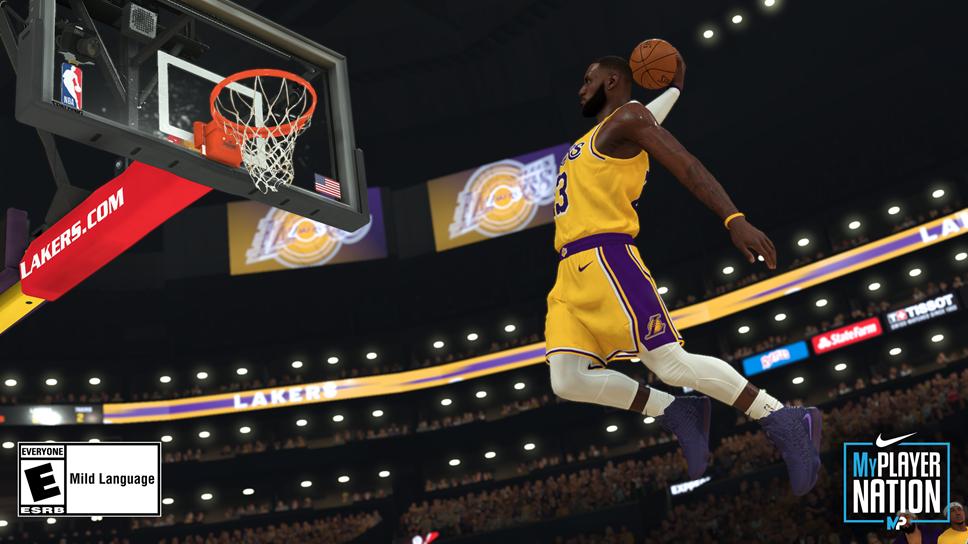 NBA 2K20 LBJ Shoe