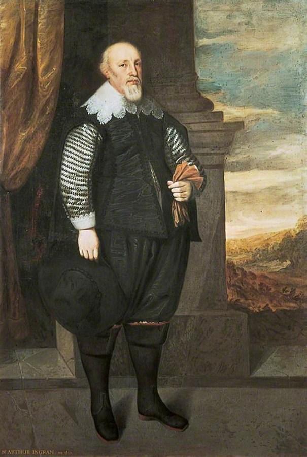 Arthur Ingram: Sir Arthur Ingram, who installed the letting on top of Temple Newsam House.