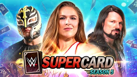 WWE® SuperCard: New WrestleMania 35 Tier: WWESC S5 Art