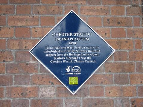 Heritage plaque to mark refurbishment work