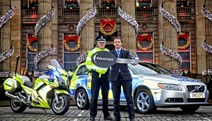 Festive Drink Drive Campaign 2015: Justice Secretary Michael Matheson and Superintendent Fraser Candlish launch the Festive Drink Drive Campaign 2015.