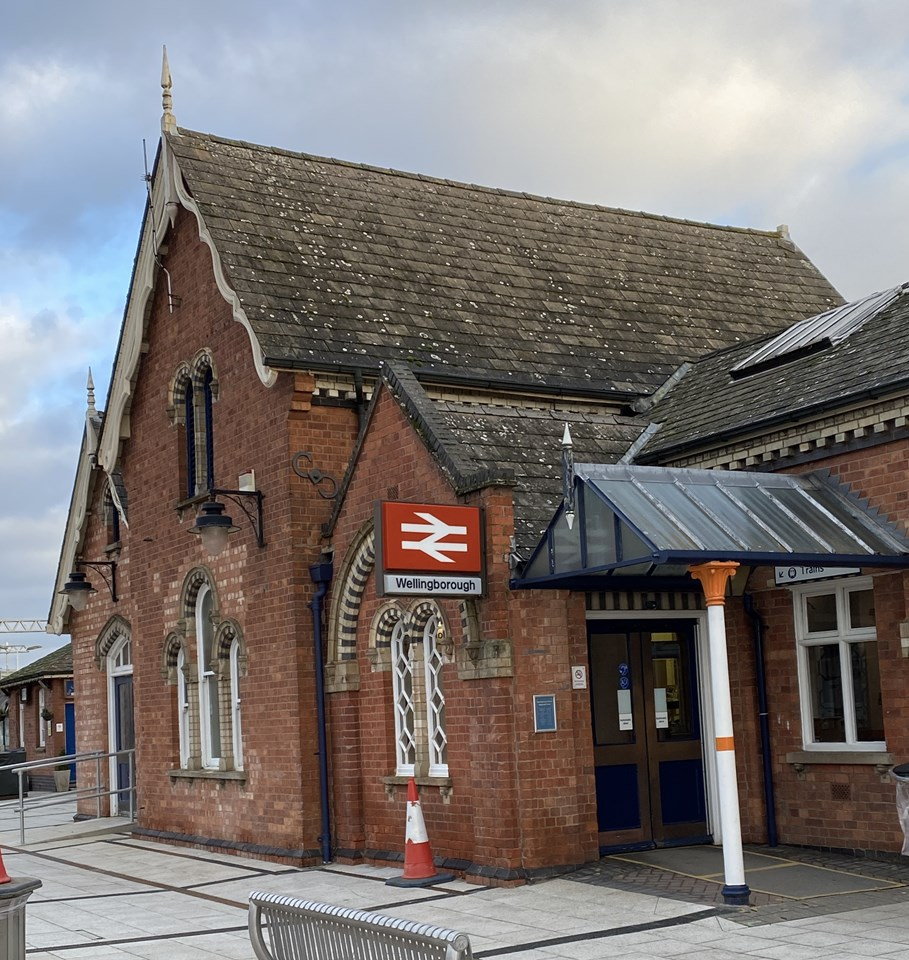 Passengers invited to find out more as work continues at Wellingborough station: Passengers invited to find out more as work continues at Wellingborough station 2