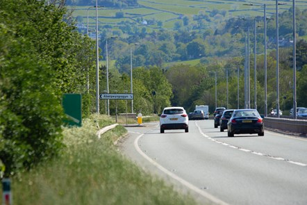 Contract awarded for £29m A55 Tai'r Meibion scheme – as North Wales transport improvements continue: J13-Abergwyngregyn (Eastbound)-1 (003)