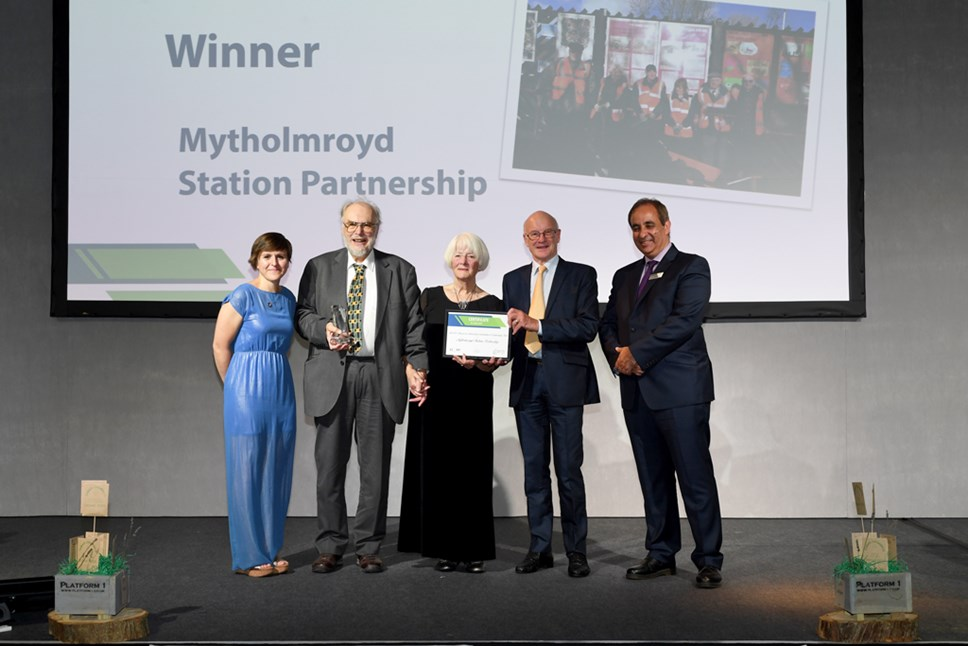 Northern hails community groups who sweep the board at awards night: Mytholmroyd