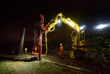 Piling is part of the electrification process: Crossrail